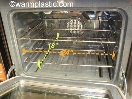 Measure Your Home Oven